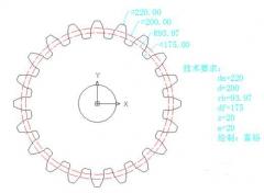 ca88会员登录|ca88亚洲城官网会员登录,欢迎光临_CAD实例教程:使用CAD绘制齿轮