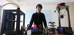 """大学生3D打印创业者重要的不是成败 而是""""成长"""""""