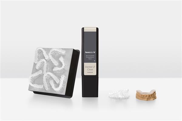 Formlabs推出世界首款能长期使用的牙科用生物相容3D打印树脂