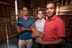 <b>受猫头鹰翅膀启发:研究人员使用3D打印开发超静音涡轮叶片</b>