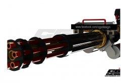 加特林机关枪 STl文件下载(3D打印模型)