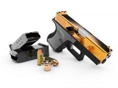 格洛克手枪图集设计(3D打印模型)