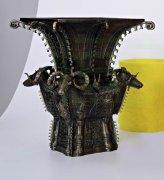 极光尔沃3D打印机再现青铜器四羊方尊