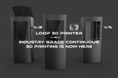 Teknodizayn展示了具有连续打印功能的注塑成型LOOP 3D打印机