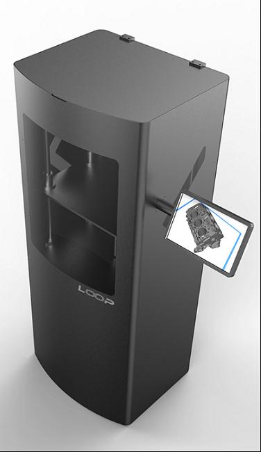 ca88会员登录,ca88亚洲城官网会员登录,ca88亚洲城,ca88亚洲城官网_Teknodizayn展示了具有连续打印功能的注塑成型LOOP ca88会员登录机