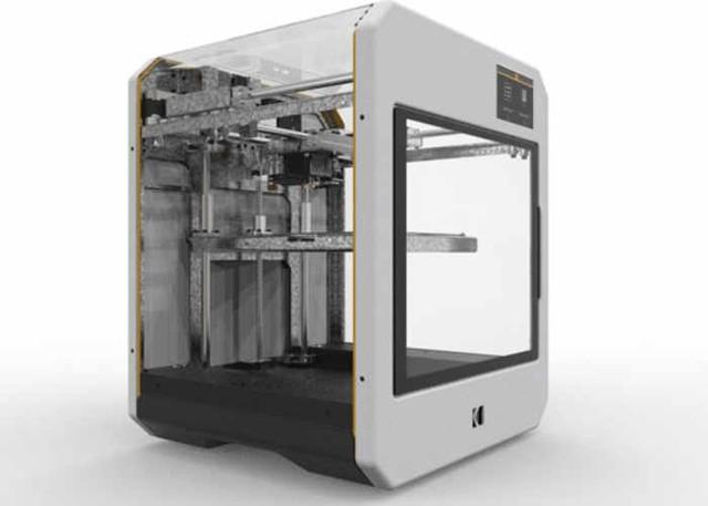 柯达美国新尝试 3D打印机预售1819美元