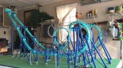 创客3D打印出全功能的Invertigo过山车复制品