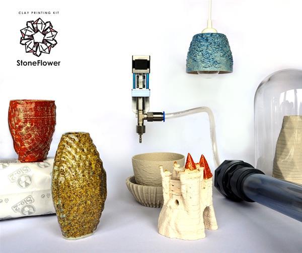 StoneFlower推出FDM 3D打印机套件,让用户轻松制作陶瓷3D打印