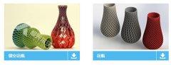 一花一世界!3D打印镂空艺术花瓶为家添情调