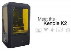 香港KENDLE推出售价1250美元的新款K2 SLA 3D打印机