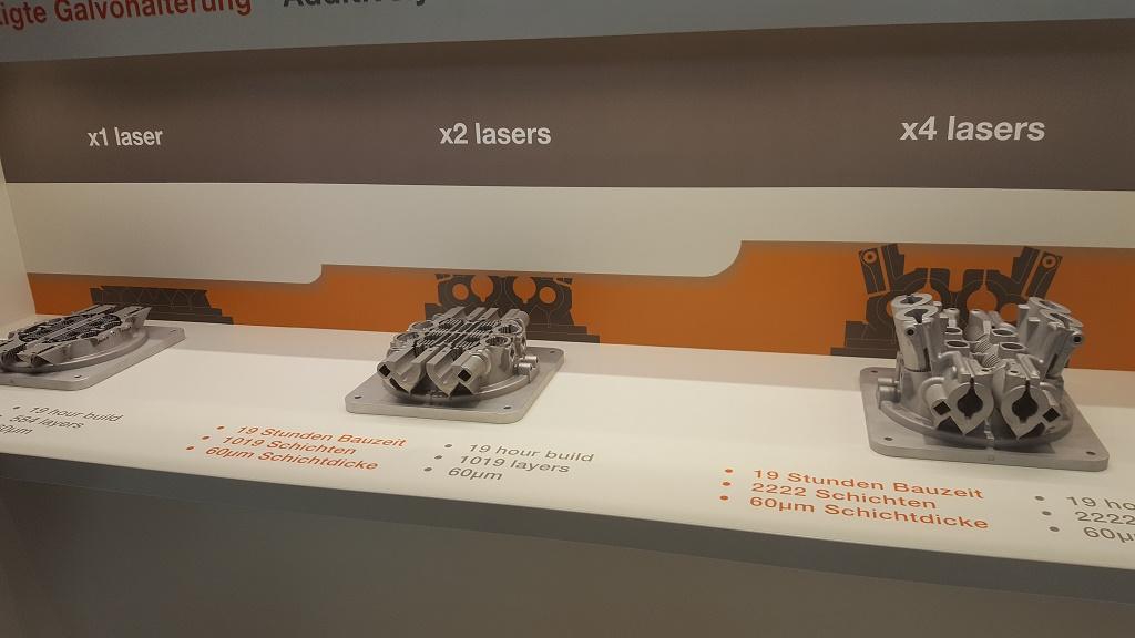 在2017年下半年展示四激光系统的优势