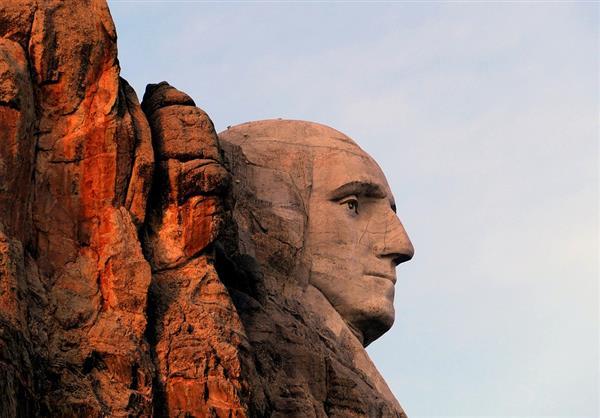 乔治华盛顿在拉什莫尔山