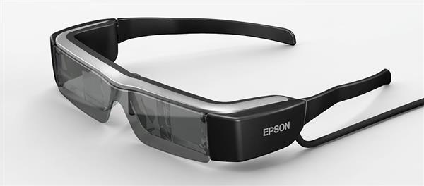 爱普生的Moverio BT-200智能眼镜