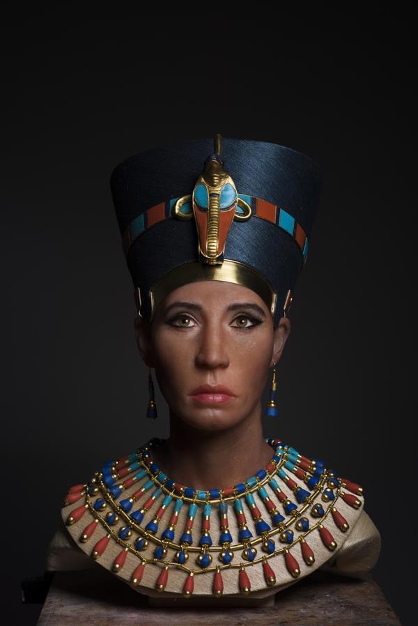 3D打印技术是否解决古埃及纳芙蒂蒂女王之谜?