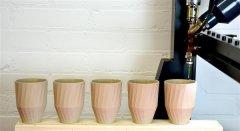 1200个陶瓷杯子使用3D打印技术仅需六周即可完成