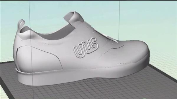 宾州州立学生开创业公司UnisBrands推定制3D打印鞋子
