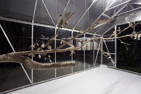 ca88会员登录|ca88亚洲城官网会员登录,欢迎光临_艺术家使用ca88会员登录笔和木丝制作逼真的树木雕塑(图)