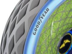 Goodyear推出使用活性植物来清洁空气的3D打印概念轮胎