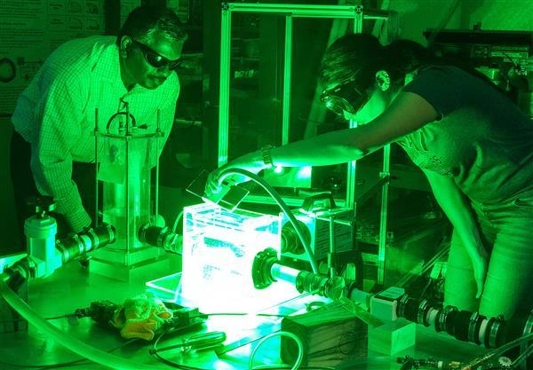 在心脏模拟器中测试3D打印的主动脉
