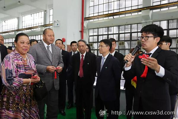 汤加国王手中的3D打印中国结是如何做成的?创想三维带你揭秘