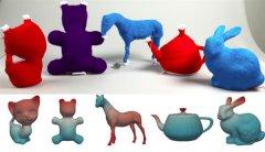 新的软件可让您将3D模型转换成3D打印毛绒玩具