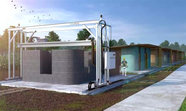 硅谷New Story公司表示4,000美元就可3D打印四室房子