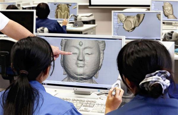 日本高中生3D打印佛像,以防止佛像从寺庙中被盗窃
