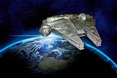 创客花10天时间3D打印巨大的星球大战千年猎鹰战舰