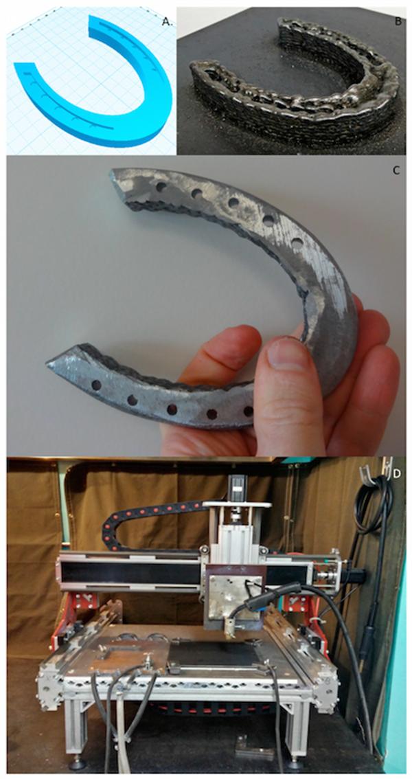 密歇根工程师开发只需1200美元的开源GMAW金属3D打印机