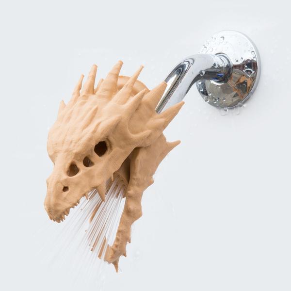Zooheads公司3D打印动物淋浴喷头将时尚带进家庭