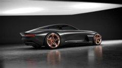 Genesis Essentia概念车拥有3D打印内饰和透明车顶