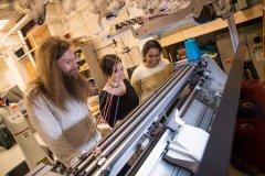 """卡耐基梅隆纺织研究院表明:电脑横机实现""""3D打印""""技术"""