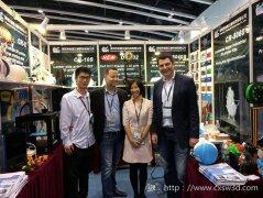 创想三维同时亮相香港两大展会 千元级3D打印机Ender-3S成焦点