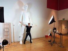 英国制造商为最高人类3D打印雕塑申请吉尼斯世界纪录