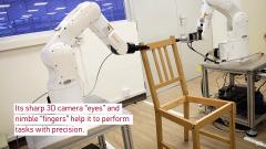 <b>机器人使用3D相机,抓手和力传感器构建宜家家具</b>
