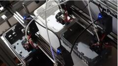 3D打印机的新玩法!高效率多喷头3D打印机