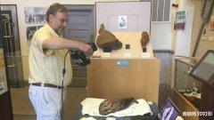 3D打印复制115年历史的火腿,用于在博物馆中展示