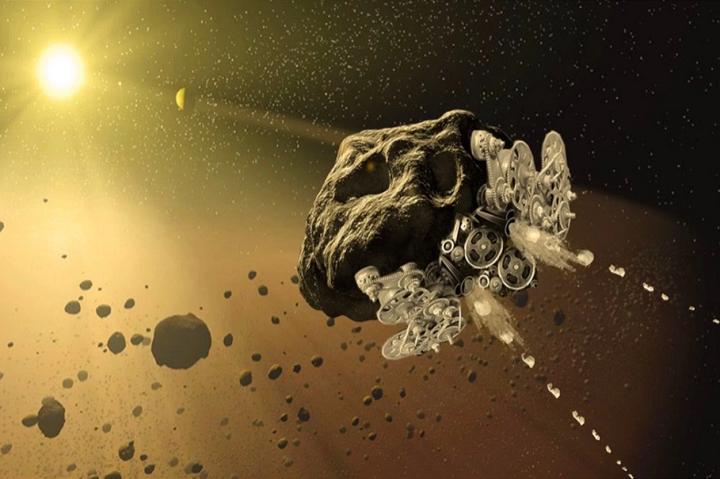 关于制作太空3D打印小行星航天器研究的最新进展