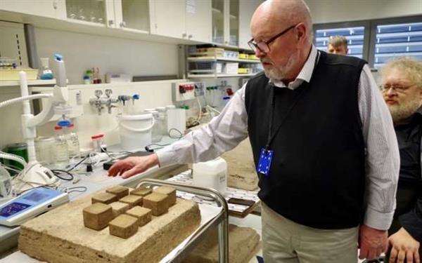 低成本房屋可以用泥炭和油页岩灰基材料进行3D打印