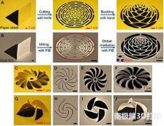 <b>纳米剪纸技术与三维光学超手征体研究取得进展</b>