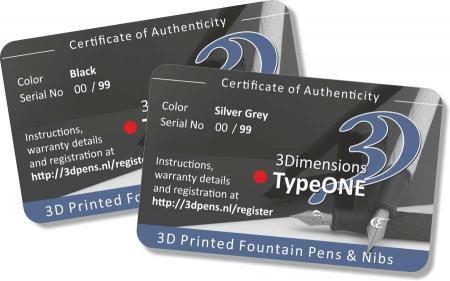 TypeOne 3D打印笔现在面向更大的收藏家群体