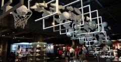 上海耐克旗舰店装饰3D打印巨型展示模型