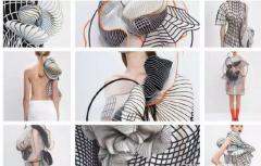 3D打印服装设计欣赏,体会科技之美