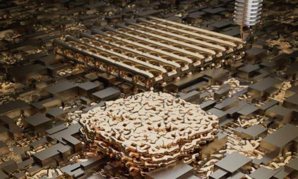 纳米多孔金的分层3D打印可以彻底改变化学反应器的设计