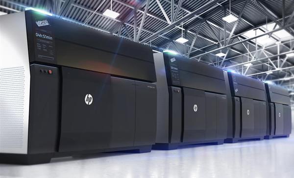 惠普推出Metal Jet 3D打印机,比其他粘合剂喷射系统高50倍