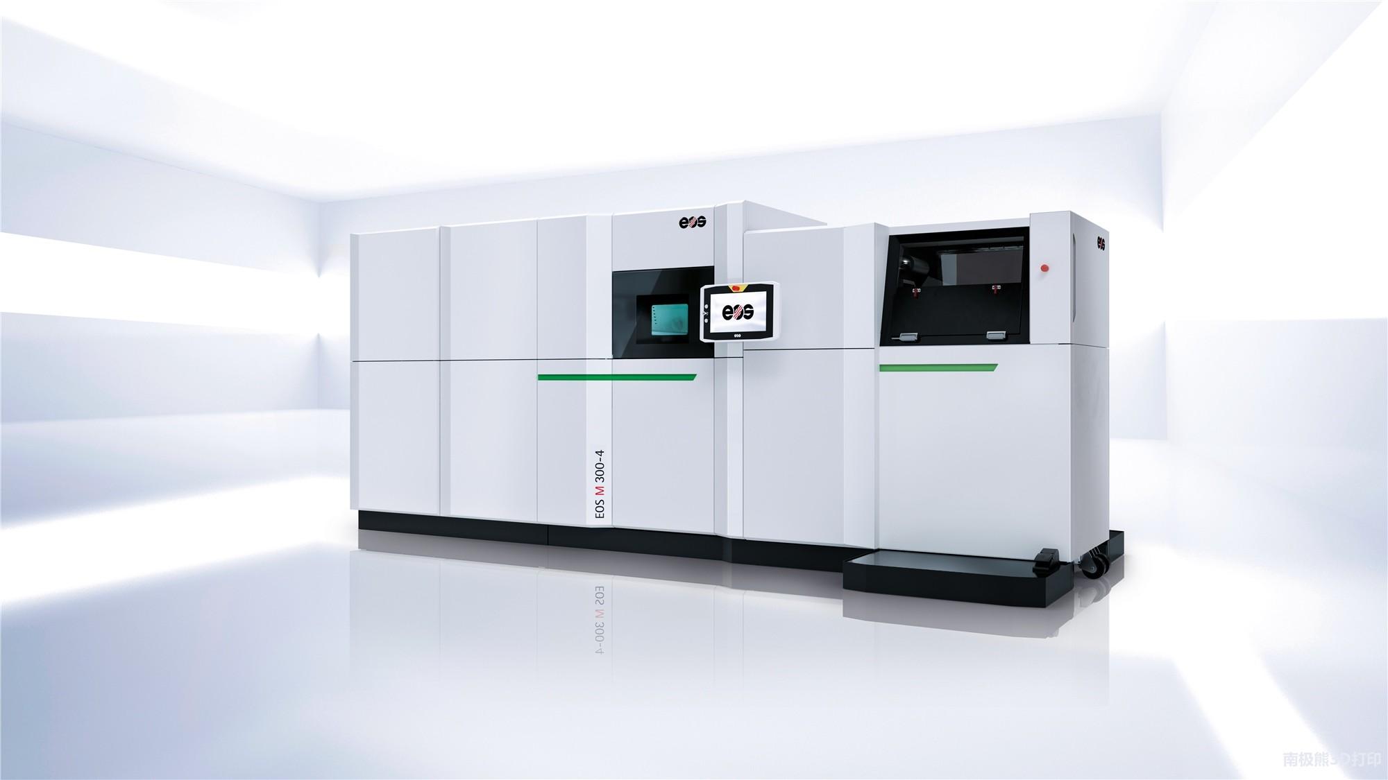 EOS发布四激光器ca88亚洲城EOS M 300-4 打印效率提升4-10倍