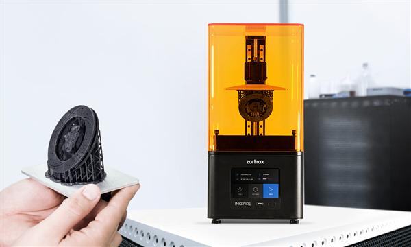 Zortrax使用Zortrax Inkspire 3D打印机进入树脂3D打印市场