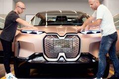 <b>3D打印格栅为全新BMW Vision iNEXT助力</b>