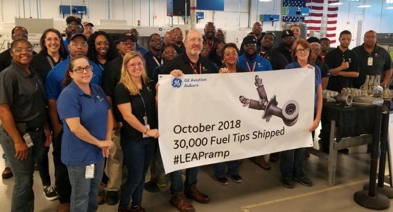 GE航空集团第30000个金属3D打印燃料喷嘴下线