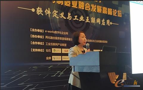 图3 中国信息通信研究院副总工程师王爱华女士